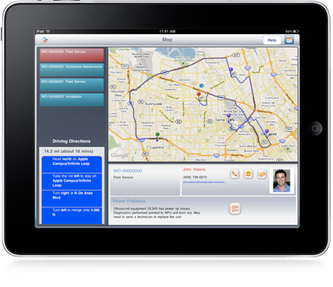 iPad In The Enterprises: ServiceMax Announces Field-Service iPad App