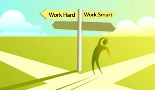 Working Hard vs Working Smart and the Myth that Young People are Told