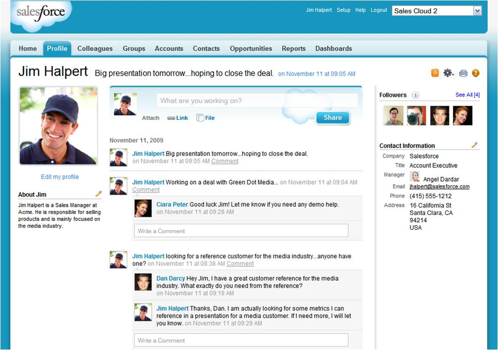 A Small Business Perspective on the Value of Salesforce Chatter