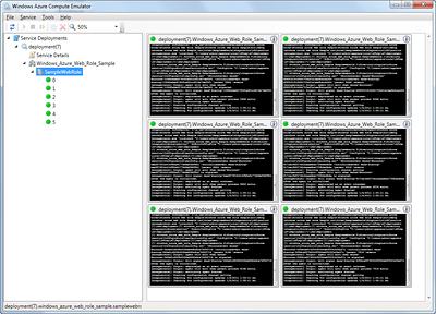 Windows Azure Compute Emulator