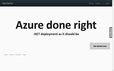 Git Rid of Windows Azure and Amazon Web Services (AWS) SDKs with .NET + Git + AppHarbor Deployment Revolution
