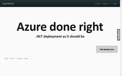 Git Rid of Windows Azure and Amazon Web Services (AWS) SDKs with .NET + Git + AppHarbor Deployment Revolution