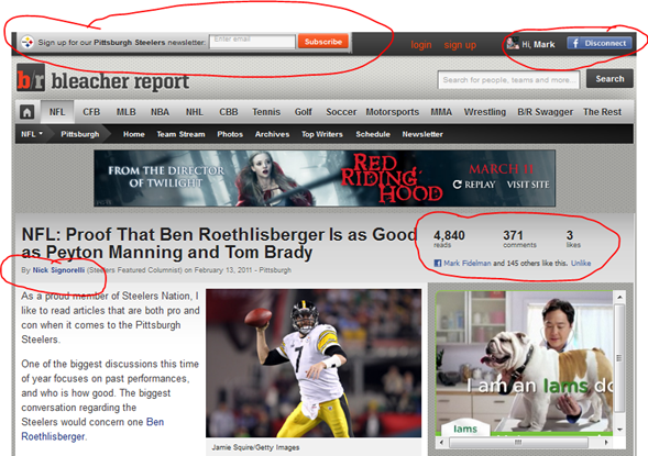 Why BleacherReport.com is Trouncing ESPN.com by using Social Business Principles
