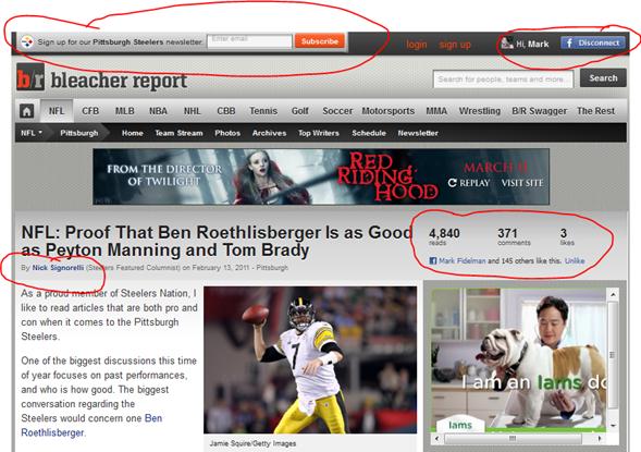 Why BleacherReport.com is Trouncing ESPN.com by using Social Business Principles