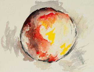 Cezanne's Apple