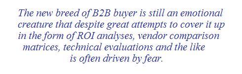 b2b sales fear
