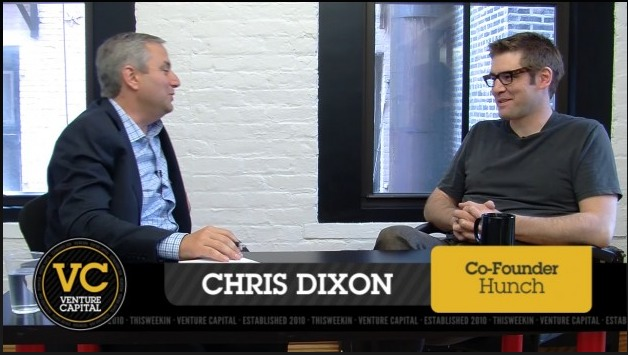 Turning the Camera on Chris Dixon