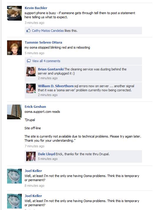 ooma facebook
