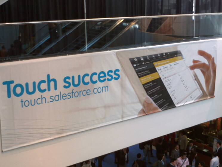 Salesforce Touch Software