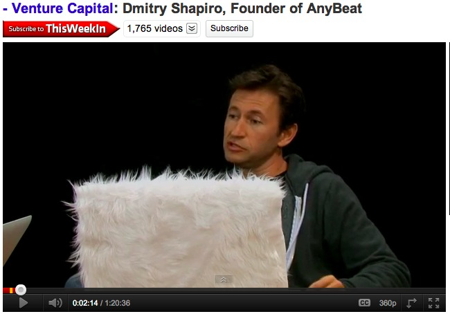 Debating Some of the Issues of Our Time with Dmitry Shapiro