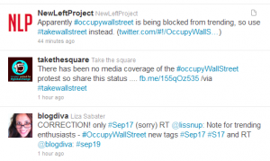 twitter censoring hash tags