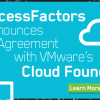 SuccessFactors Partners with CloudFoundry to Deliver PaaS