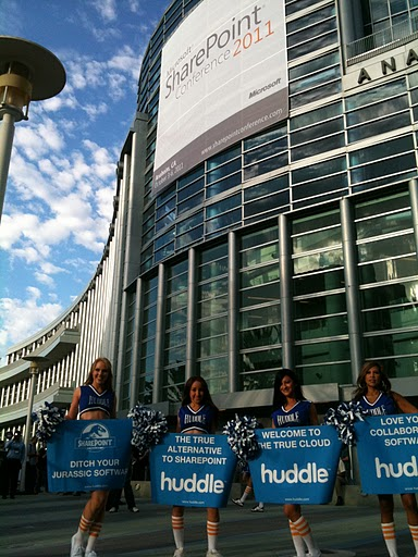 Huddle Riding a Wave–Collaboration to the World (of Enterprise)