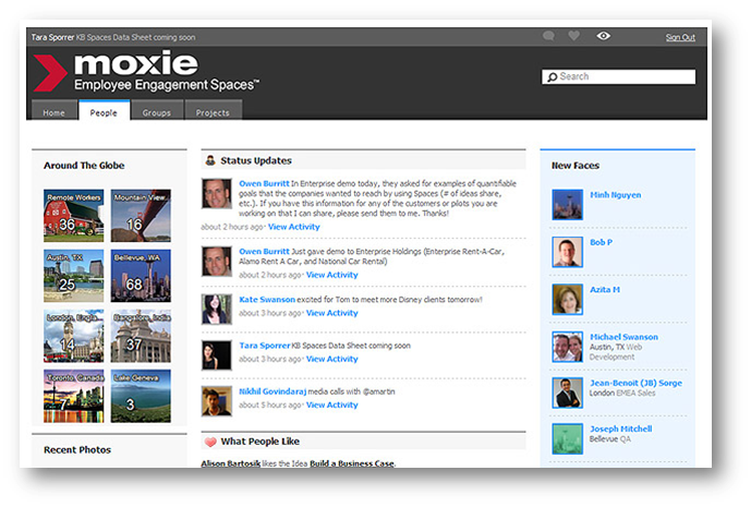 Emergent Collaboration Vendor Review: Moxie Software
