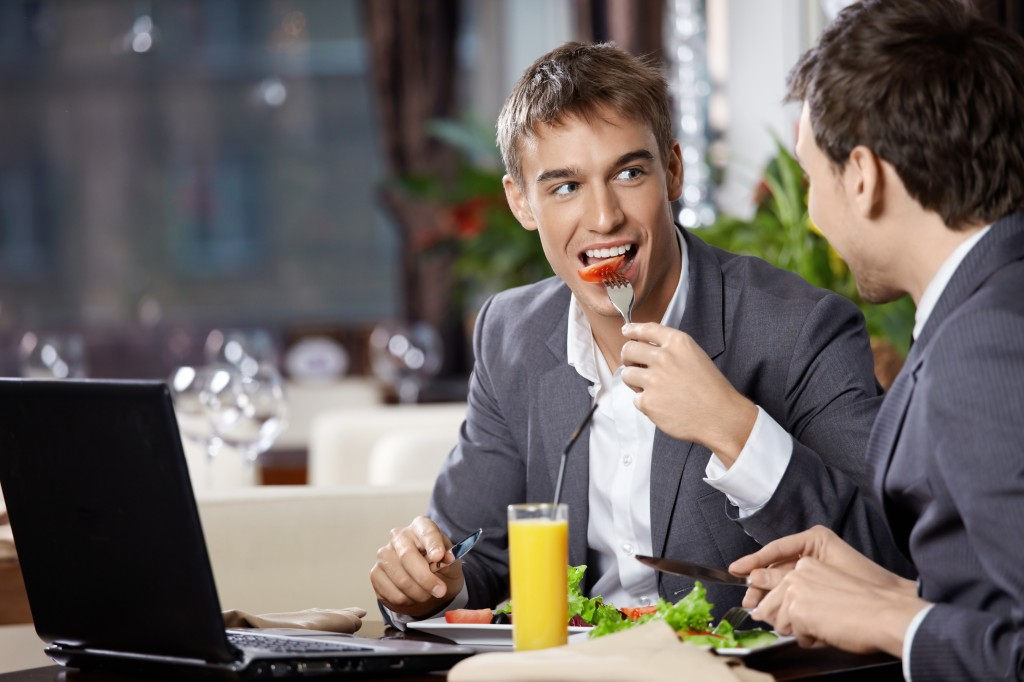 Never Ask a Busy Person to Lunch. Here's Why: