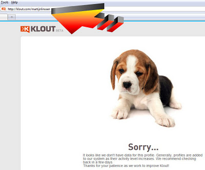 Completely drop your Klout account in 30 seconds