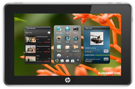 HP Opensources WebOS: My Quick Thoughts