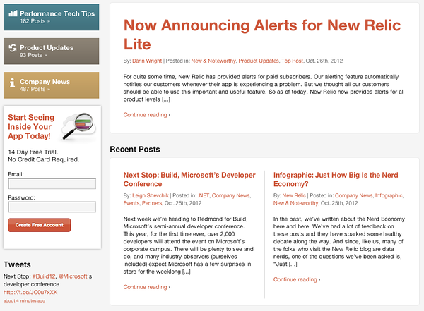 New Relic's Blog - click to go there and have a read.