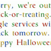 Google's Halloween Surprise