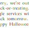 Google's Halloween Surprise