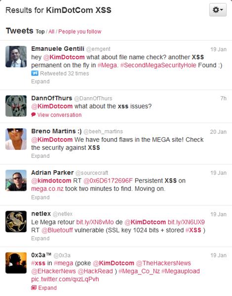 twitter kim dot com mega