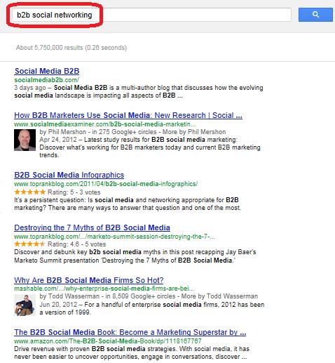 social media - social networking - search