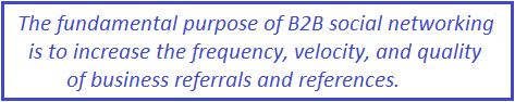 b2b social networking