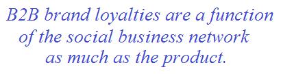social business network brand