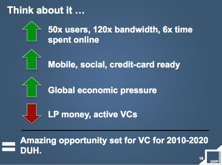 VC opportunities ahead