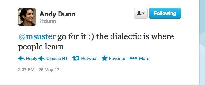 andy dunn tweet