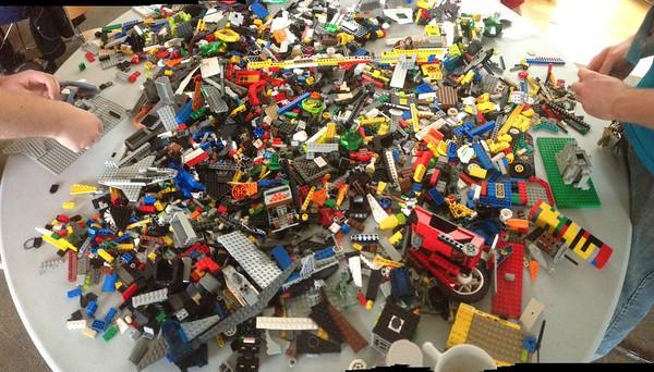 Lego table!