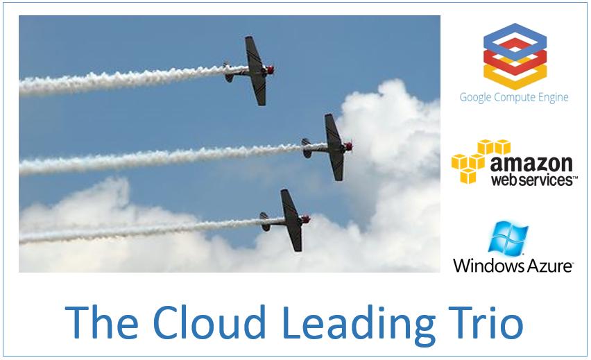 The Cloud Leading Trio