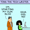 Should entrepreneurs blog?