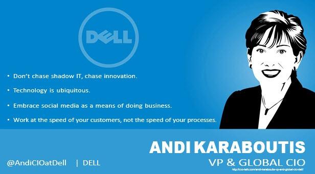 Andi Karaboutis CIO Dell