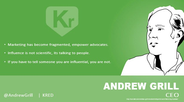 Andrew Grill, CEO, Kred