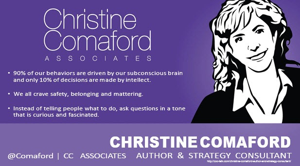 Christine Comaford, Author and Consultant