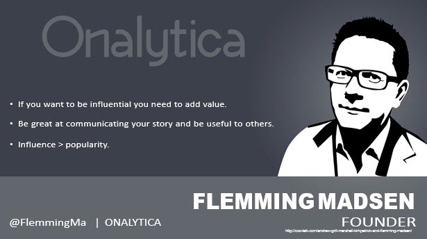 Flemming Madsen, CEO, Onalytica