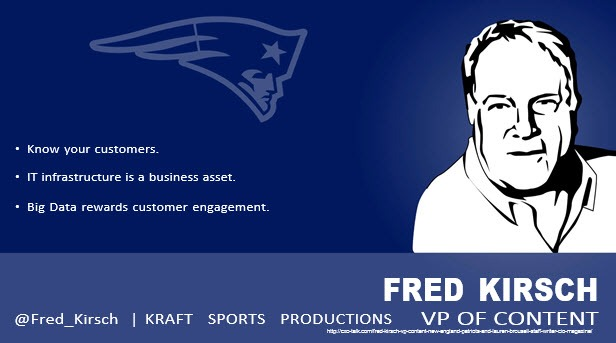 Fred Krish, Chief Digital Officer, New England Patriots