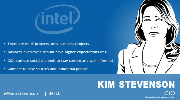 Kim S. Stevenson, CIO, Intel