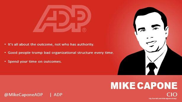Mike Capone, CIO, ADP