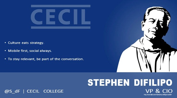 Stephen DiFilipo, CIO, Cecil College