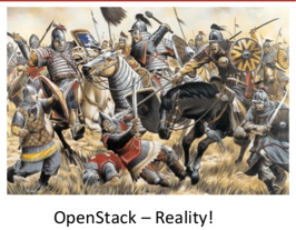 The OpenStack Battle - taken from Freedland Presentation