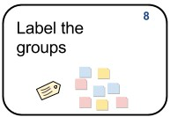 8 Label the groups
