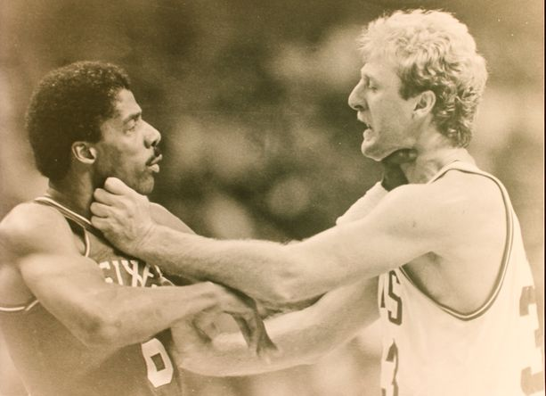 larry bird dr j