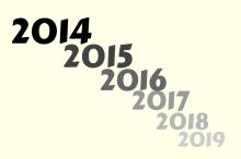 2014 2019