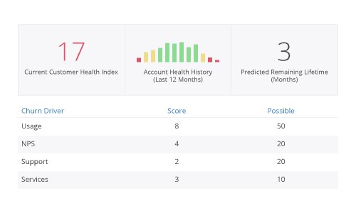 saas customer success metrics kpi dashboard