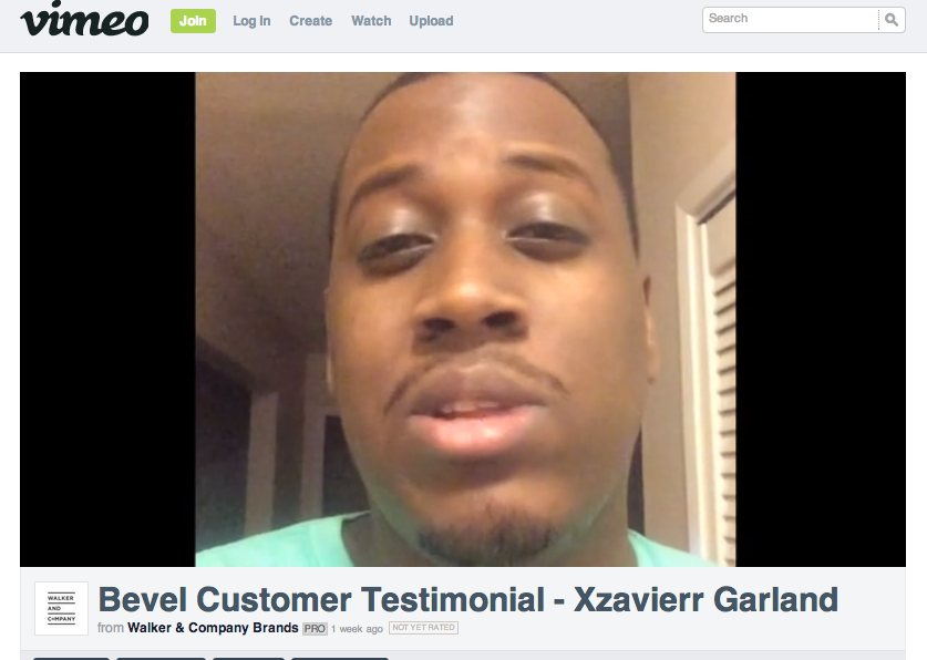 Bevel Testimonial