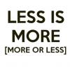 Do Less. More.