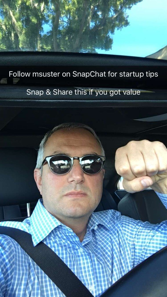 Follow Msuster on Snapchat