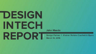 Design in Tech 2016
